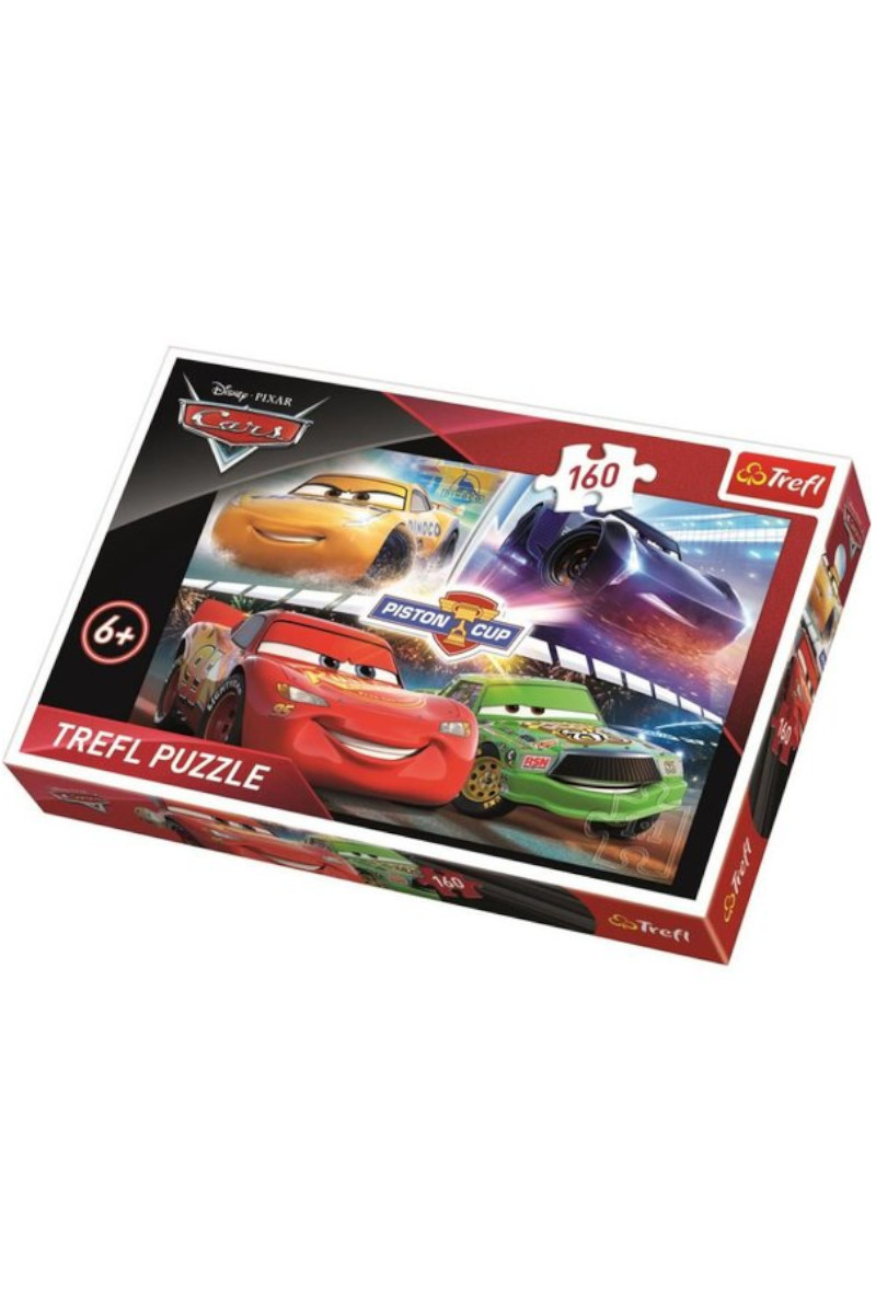 Trefl Puzzle 160 Winning The Race Cars 3