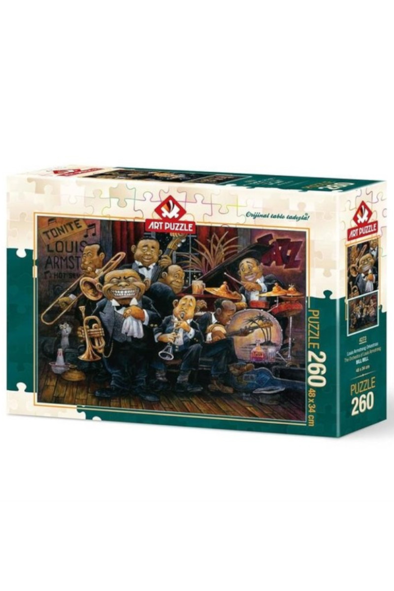 Art Puzzle 260'lı Louıs Armstong Orkestrası 4273