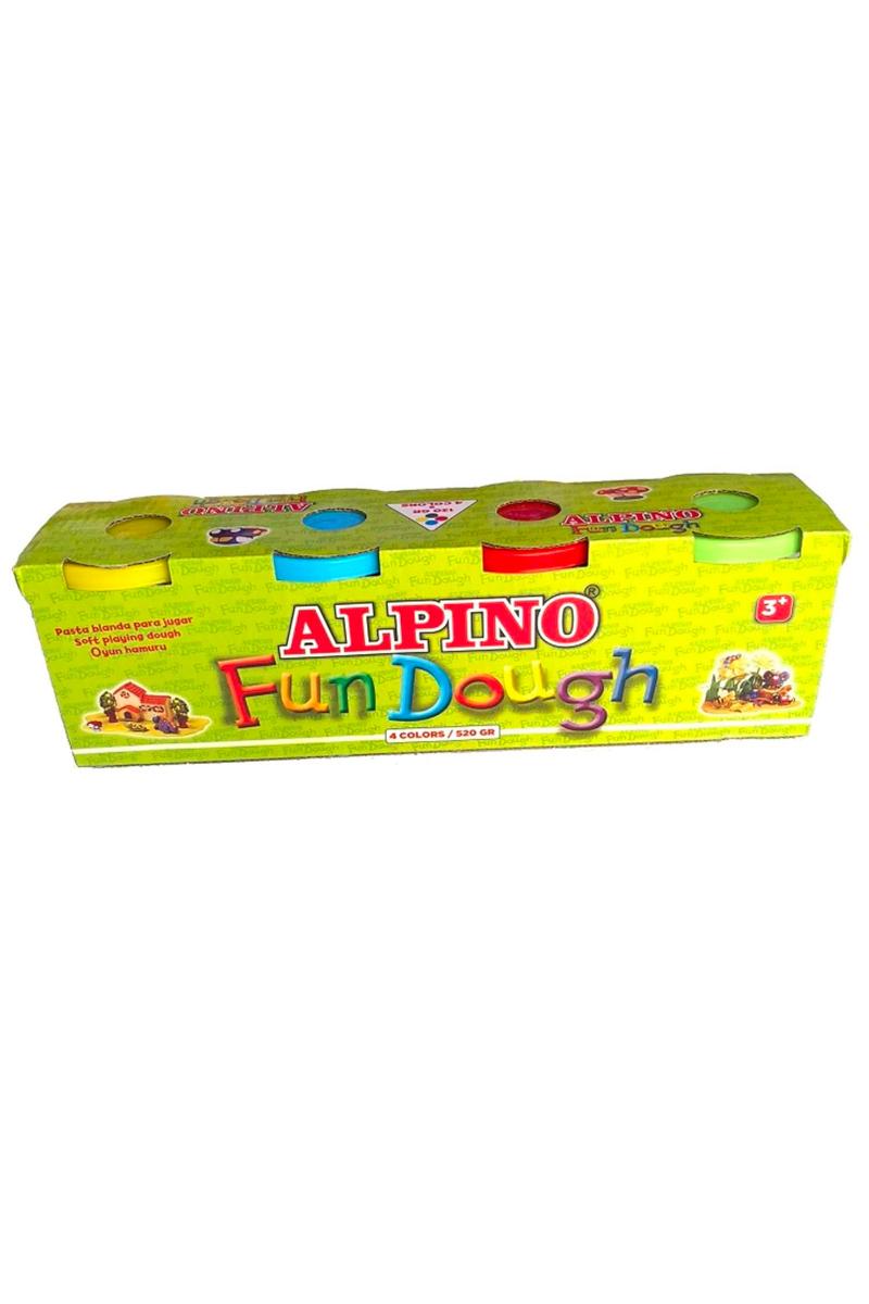 Alpino Oyun Hamuru 130 Gr 4lü