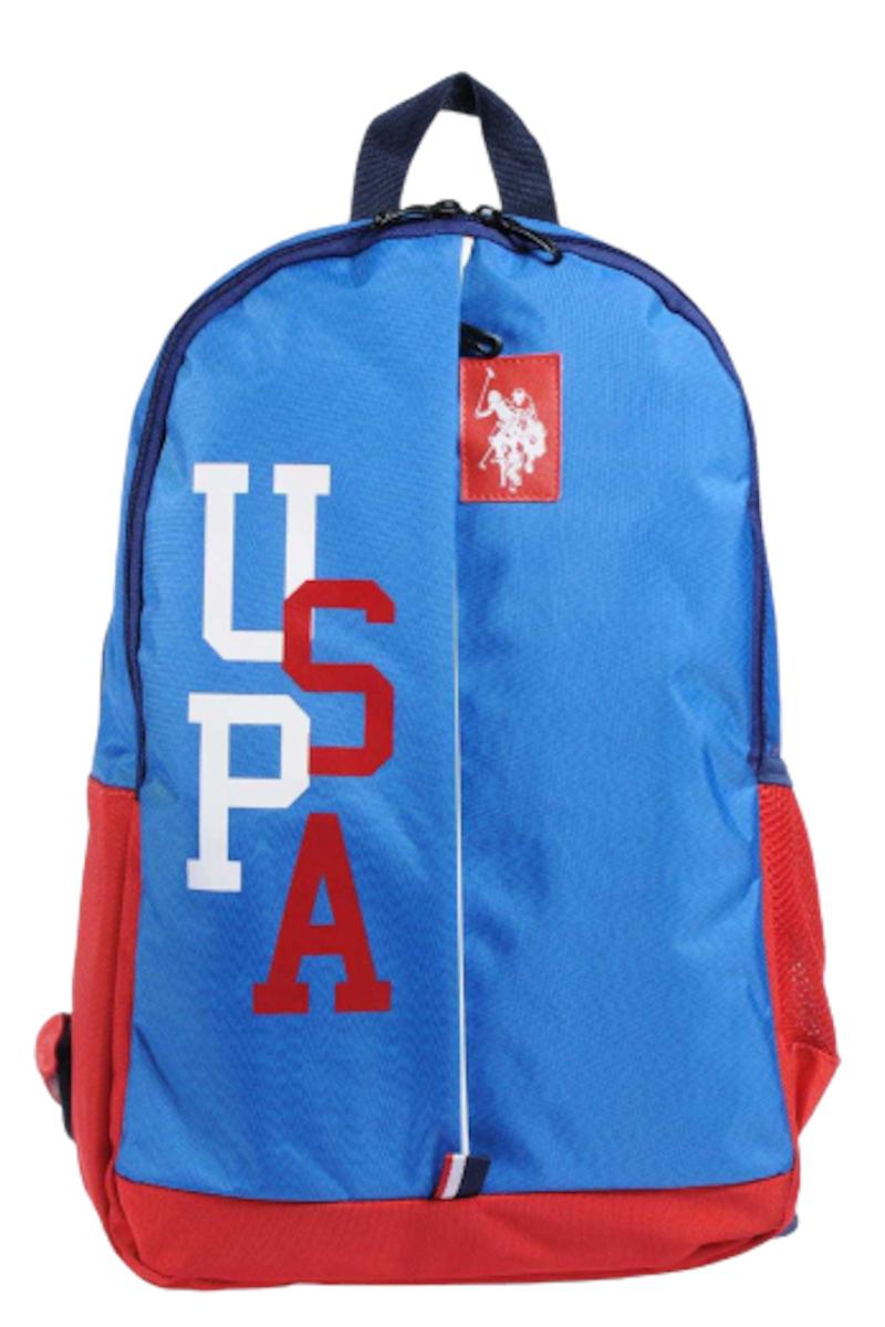 U.S. Polo Sırt Çantası 9306 Mavi