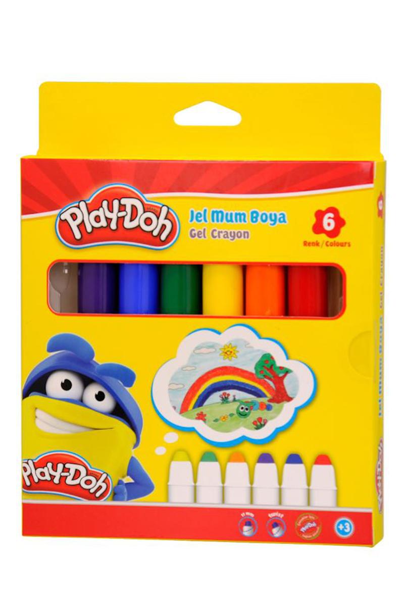 Play-Doh Jel Mum Boya 6 Renk