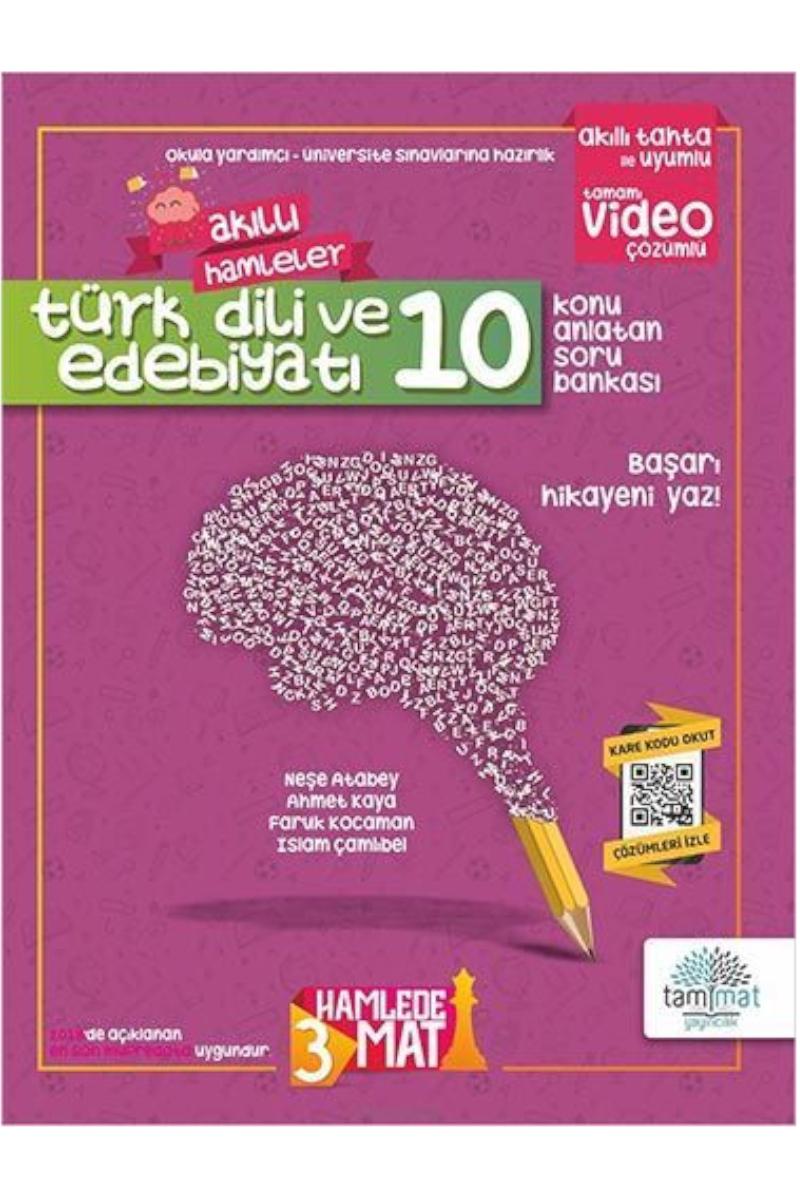 Tammat 10. Sınıf Türk Dili Ve Edebiyatı Konu Anlatan Soru Bankası
