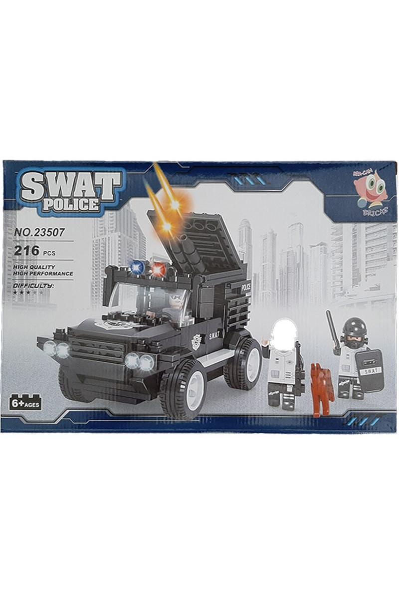 Lego Kutulu 216 Parça Polis Arabası