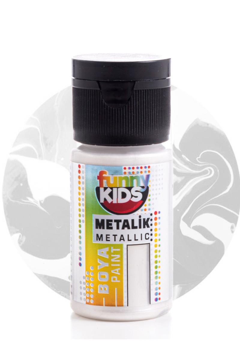 Funny Kids Metalik Boya 020cc 2314 İnci