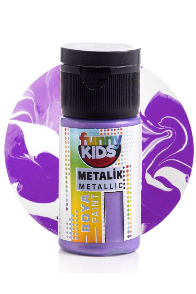 Funny Kids Metalik Boya 020cc 2326 Mor