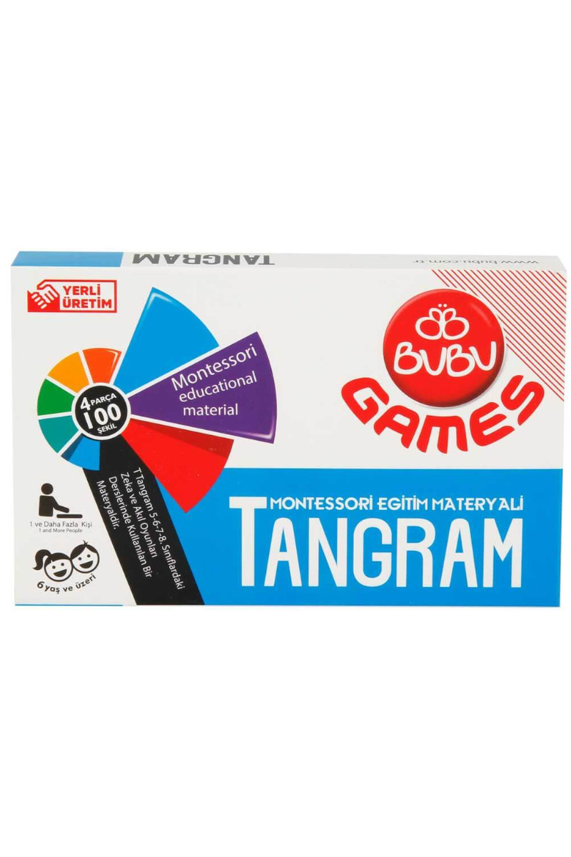 Bubu Games Natural Tangram
