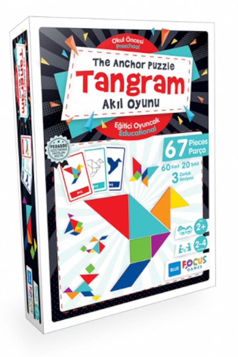 Blue Focus Tangram