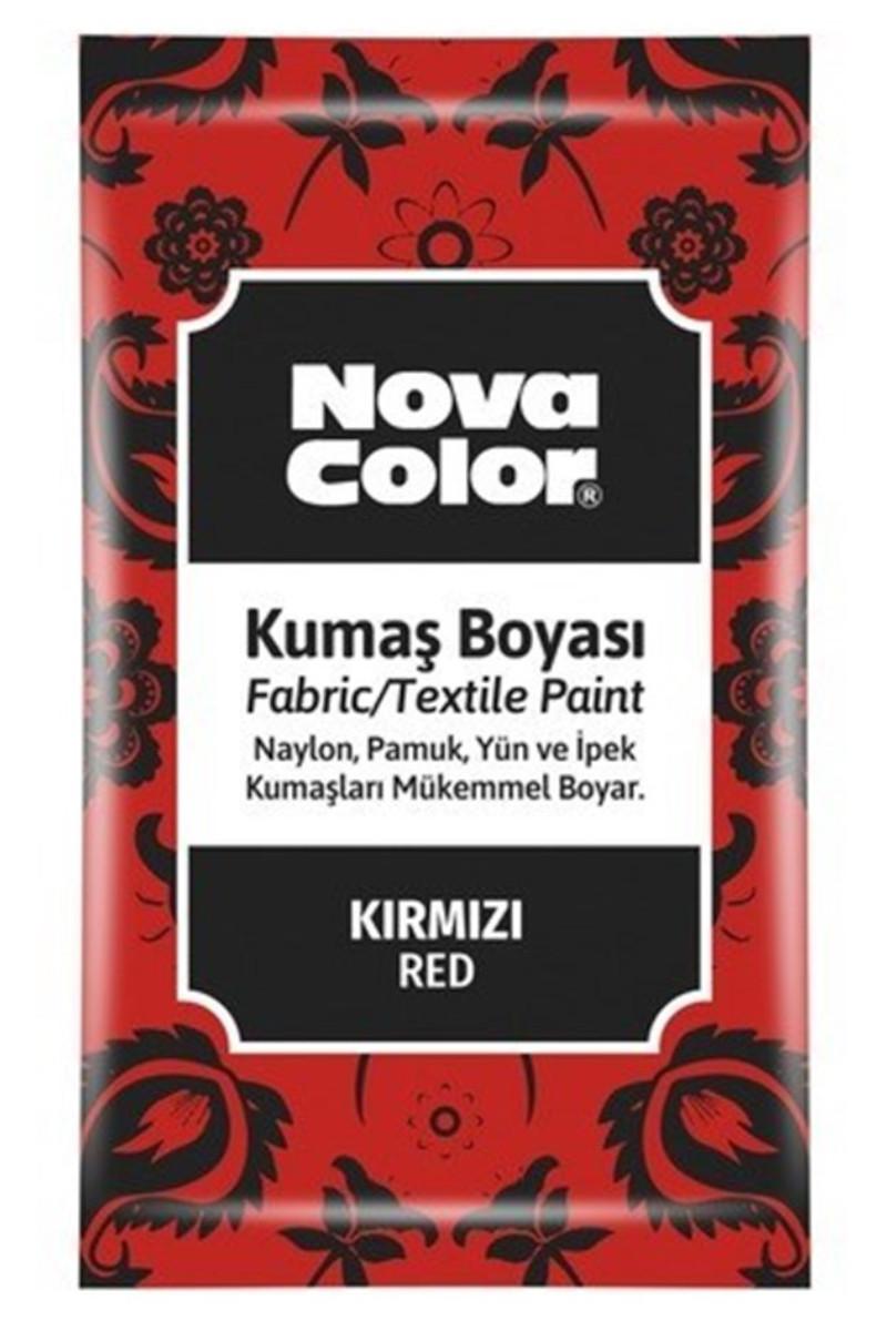 Nova Color Kumaş Boyası Toz Kırmızı 12gr