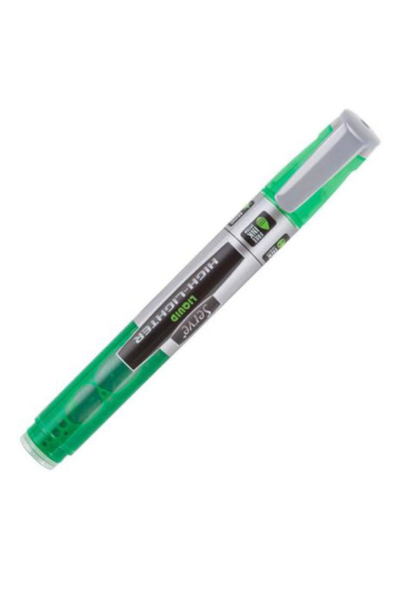 Serve Likit Fosforlu Kalem Pastel Yeşil