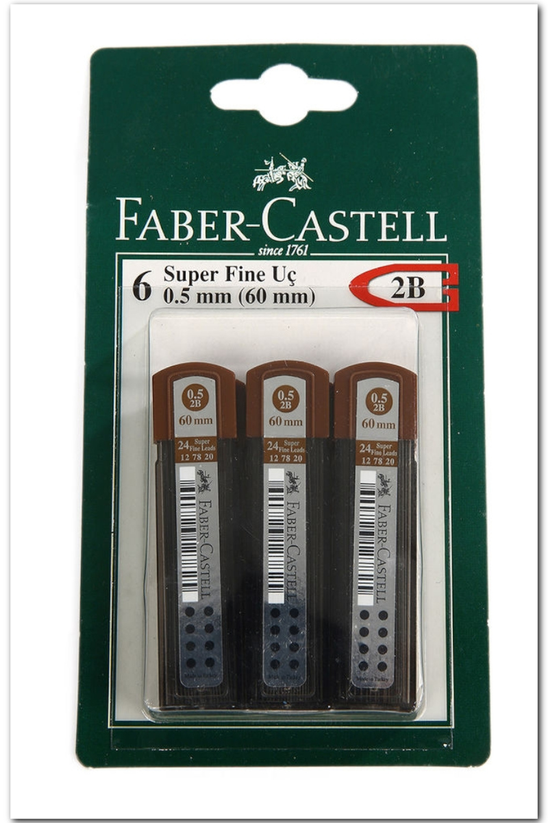 Faber Castell Super Fine 2b 0.5 Uç