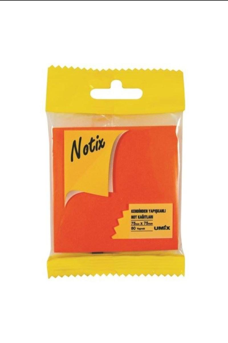 Notıx Neon Turuncu Yapışkanlı Not Kağıdı