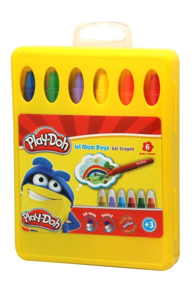 Play-Doh Jel Mum Boya 6 Renk Özel Kutu