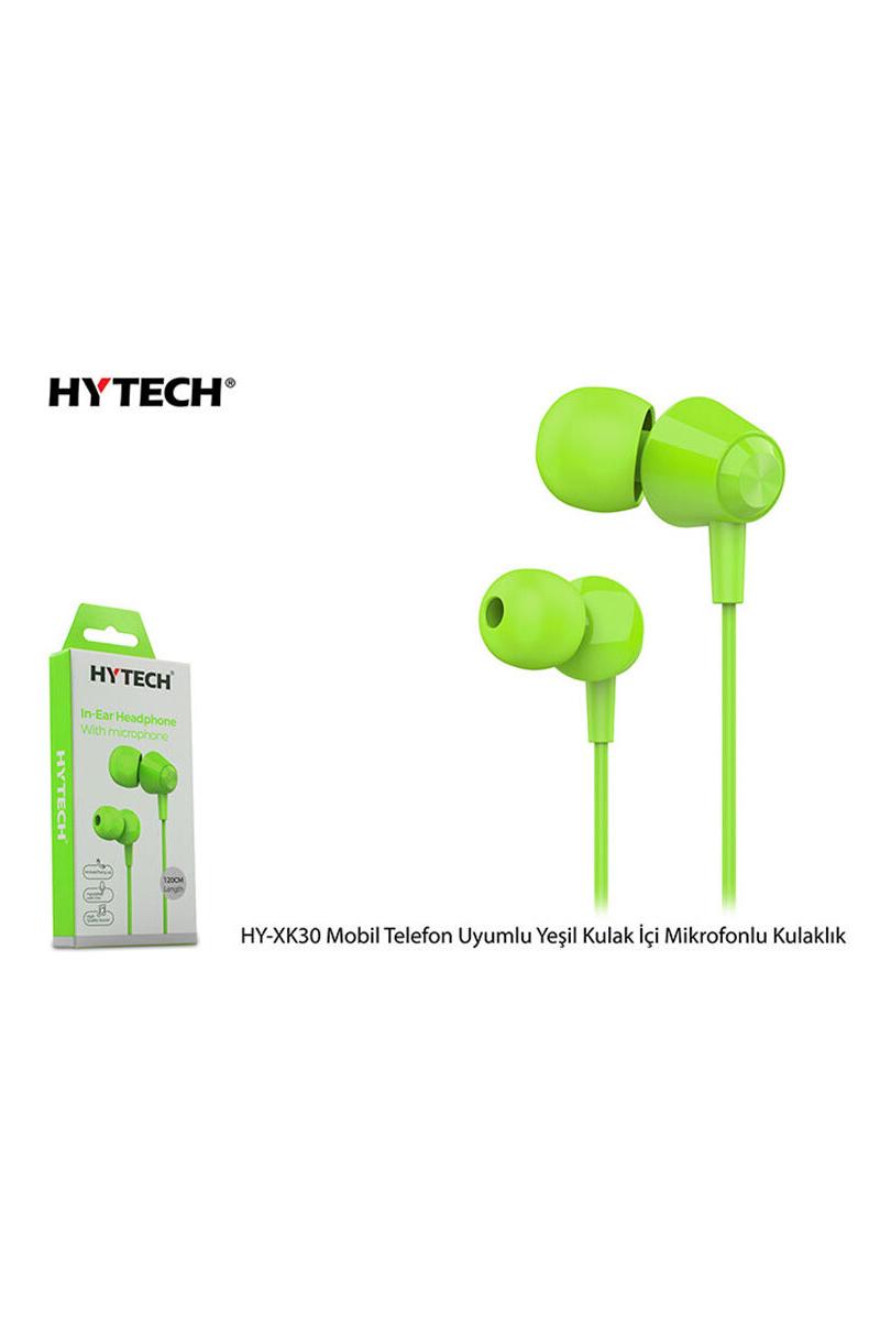 HYTECH Mikrofonlu Yeşil Kulaklık HY-XK30