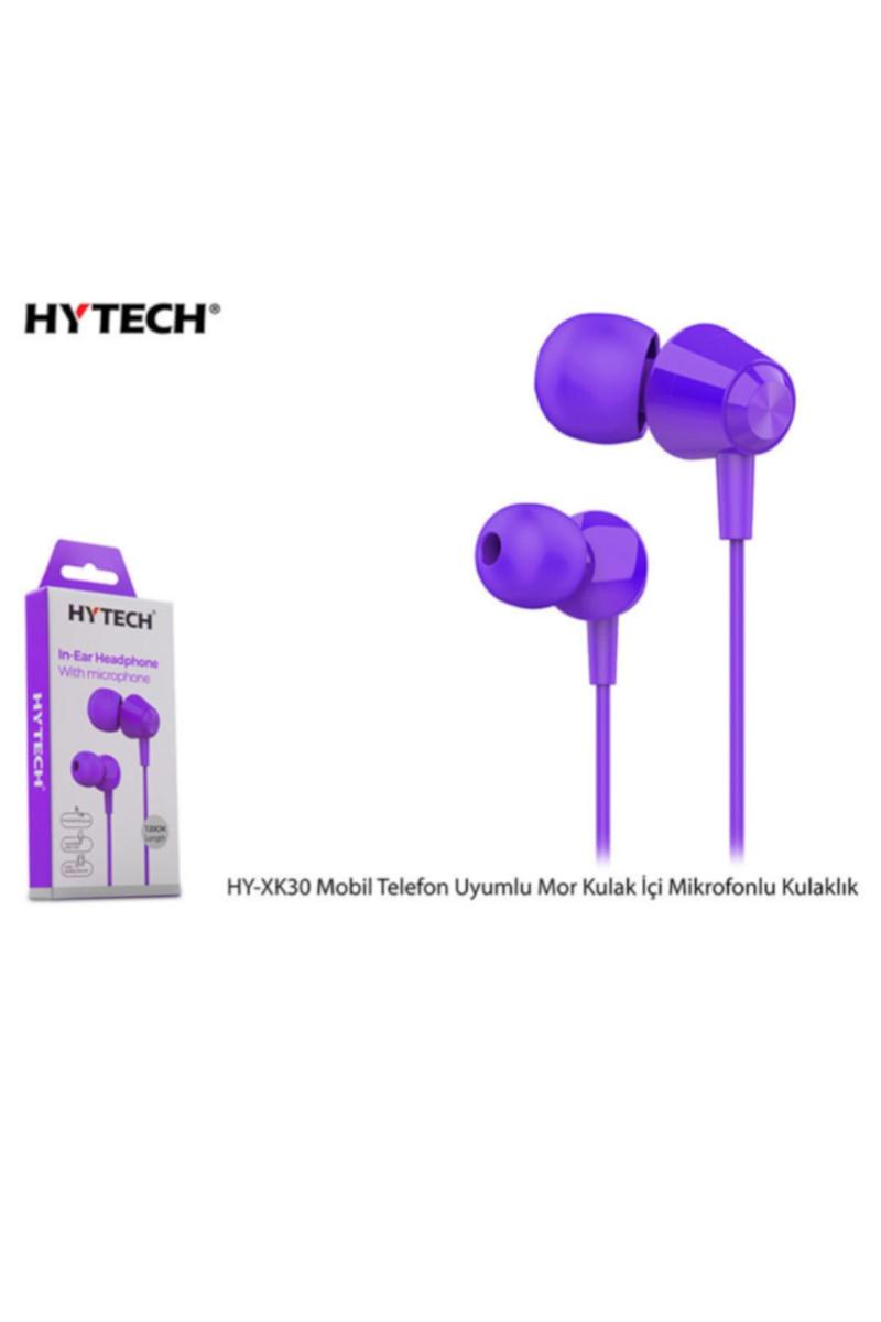HYTECH  Mikrofonlu Mor Kulaklık HY-XK30