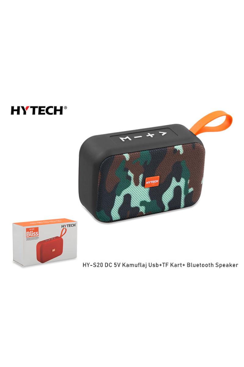 HYTECH Bluetooth Speaker Kamuflaj USB+SD