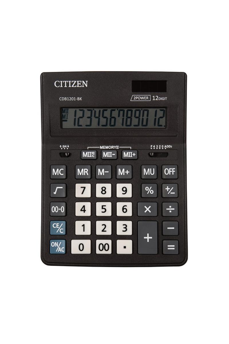 Cıtızen Büyük Hesap Makinesi CDB-1201BK