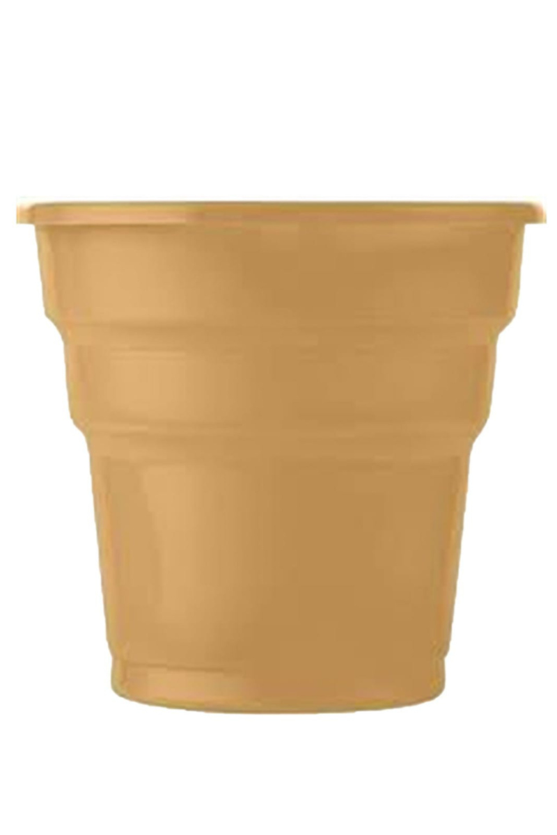 Plastik Bardak 25'li Altın