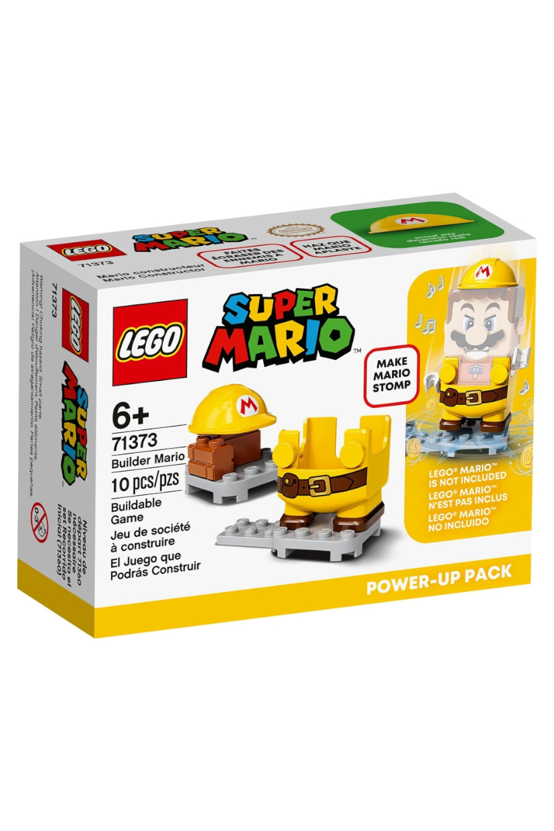 Lego Süper Mario Builder Mario Power - Up Back