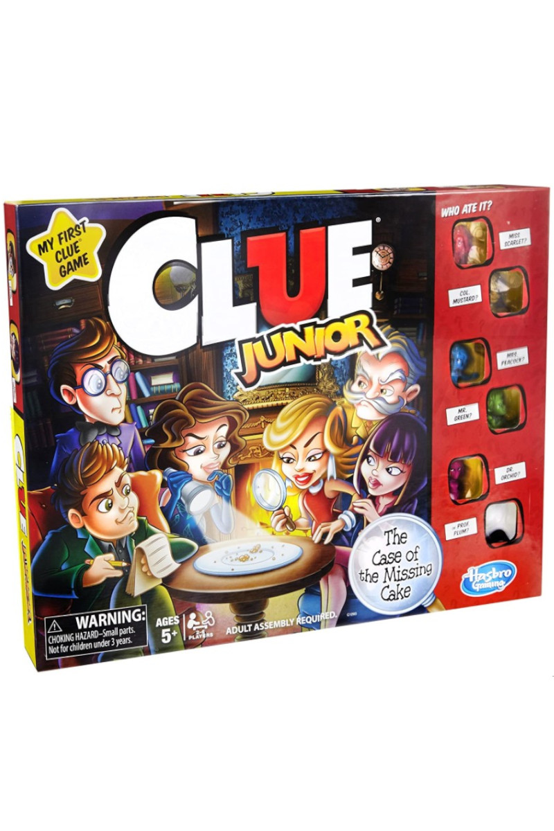Hasbro Cluedo Junıor