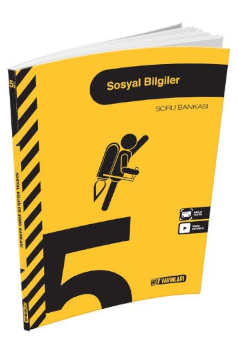 Hız Yayınları 5.Sınıf Sosyal Bilgiler Soru Bankası