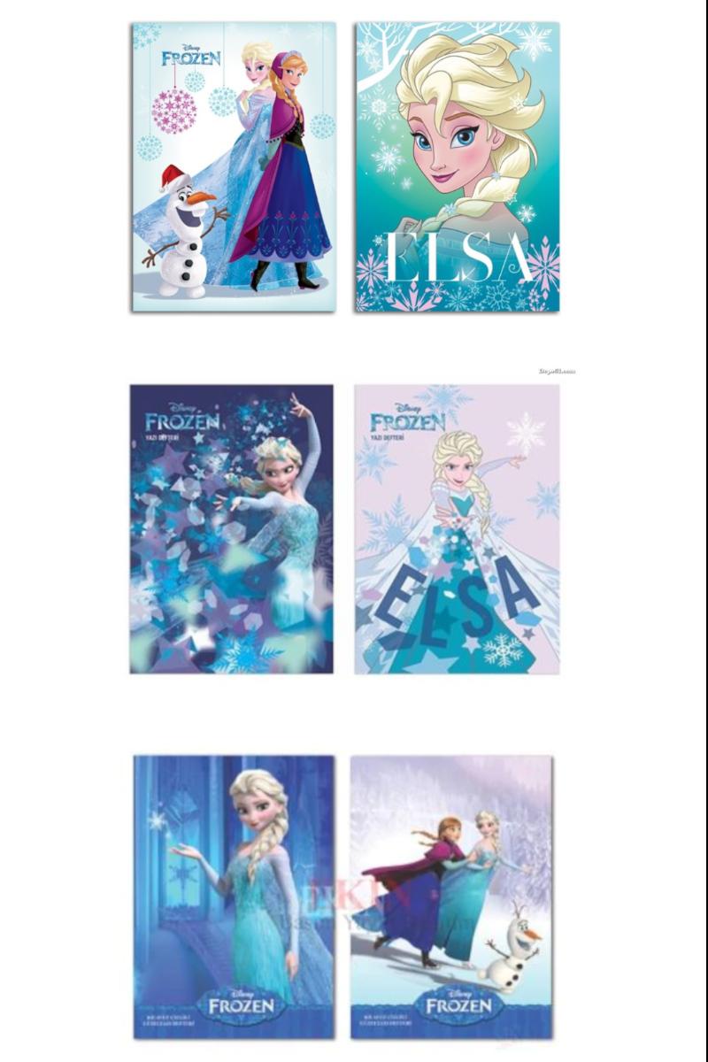 Keskin Color Frozen Güzel Yazı Defteri A5 40 Yaprak