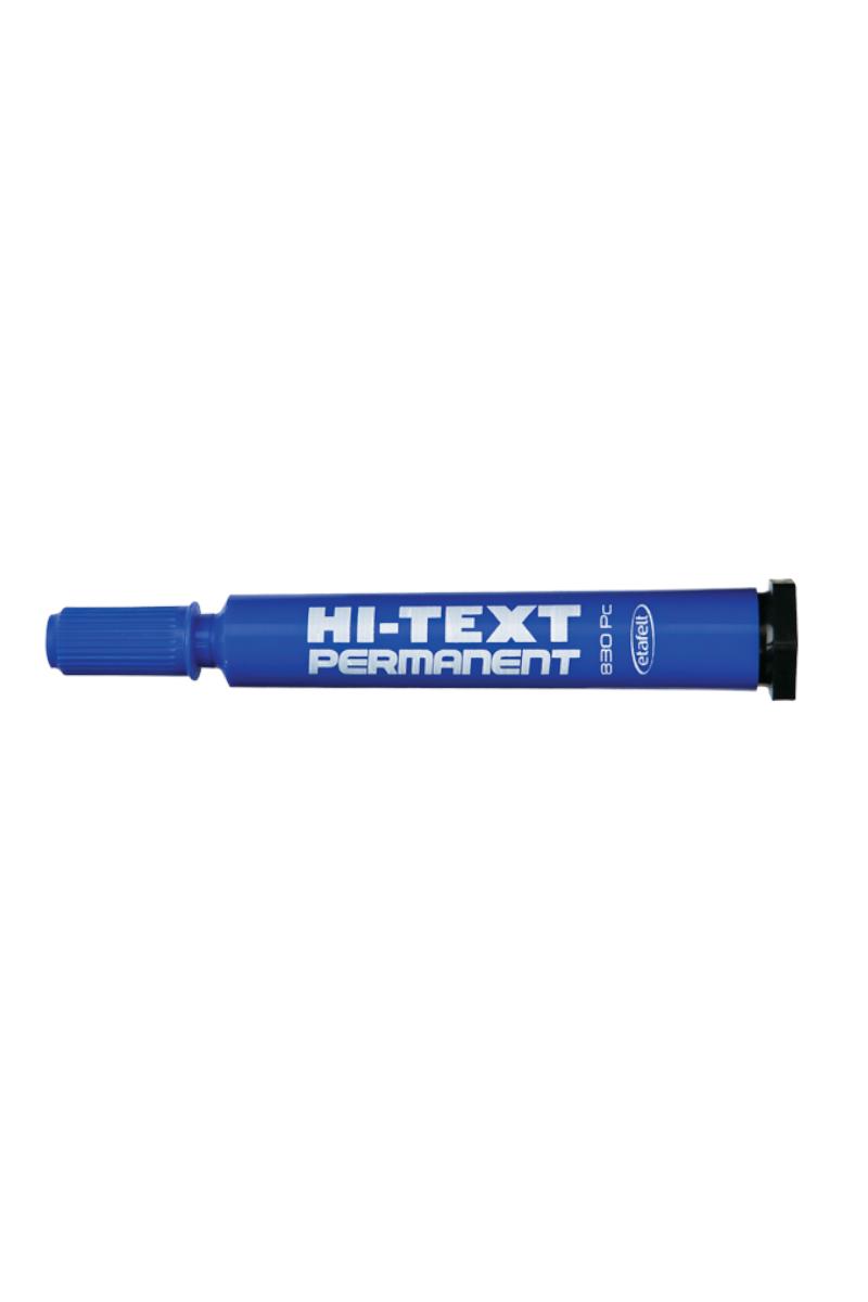 Hi-Text Koli Kalemi Kesik Uç Mavi