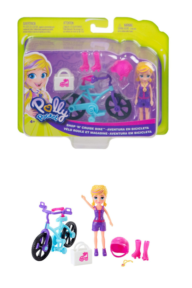 Polly Pocket ve Bisikleti Oyun Setleri