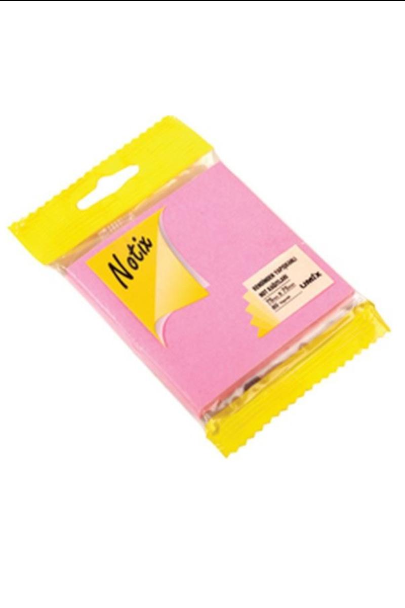 Notıx Neon Pembe Yapışkanlı Not Kağıdı