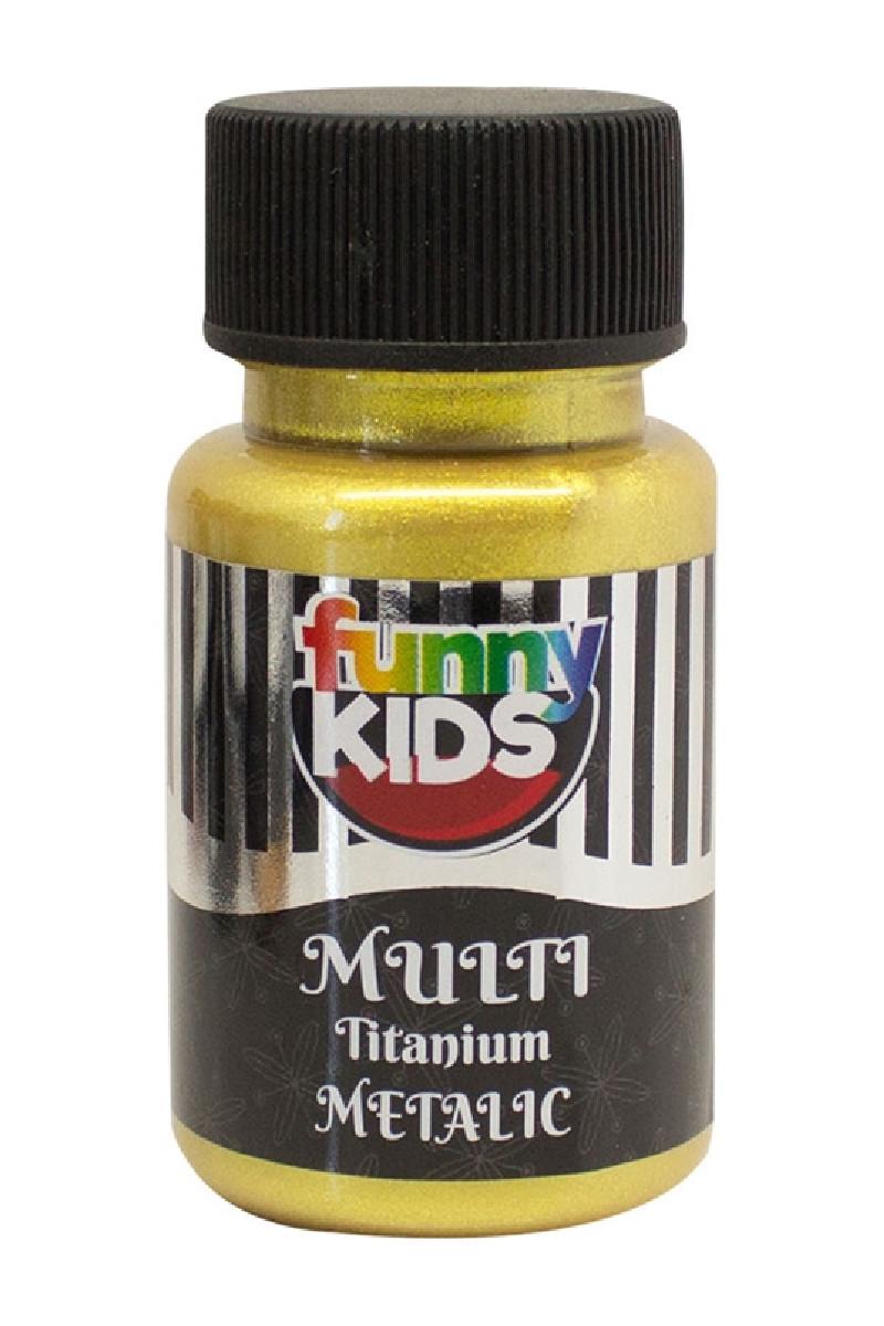 Funny Kids Titanyum Metalik 050cc Altın