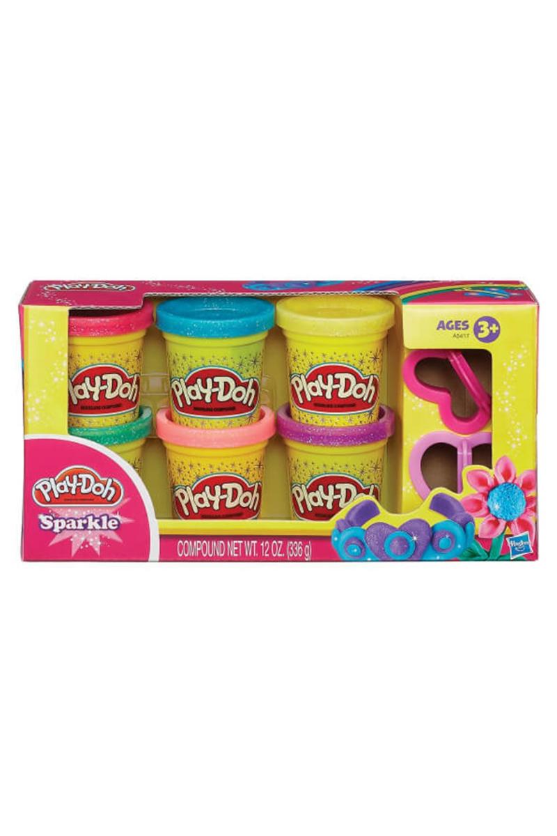 Play-Doh Dısney Prıncess Işıltılı Hamur