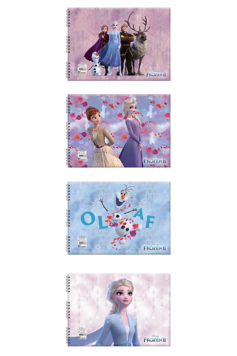 K.Color Frozen Iı Resim Defteri 17x25 15yp