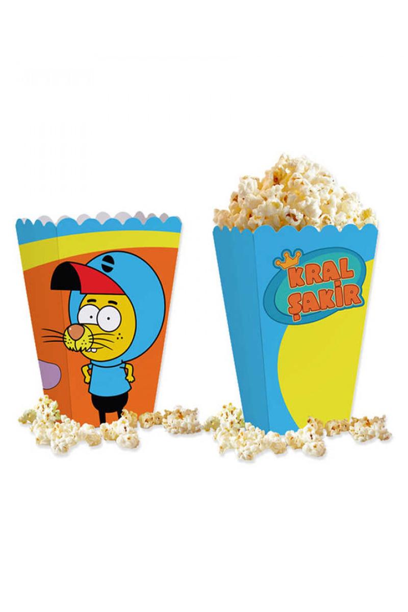 Popcorn Kutusu 10'lu Kral Şakir Action