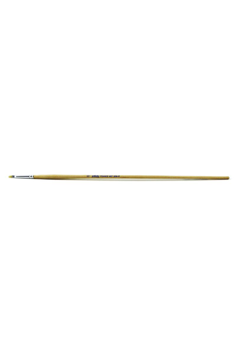 Pebeo Beyaz Uzun Kıl Yağlı Ve Akrilik Fırçası 258f/0