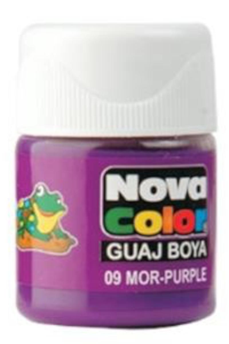 Nova Color Guaj Boya Şişe Mor