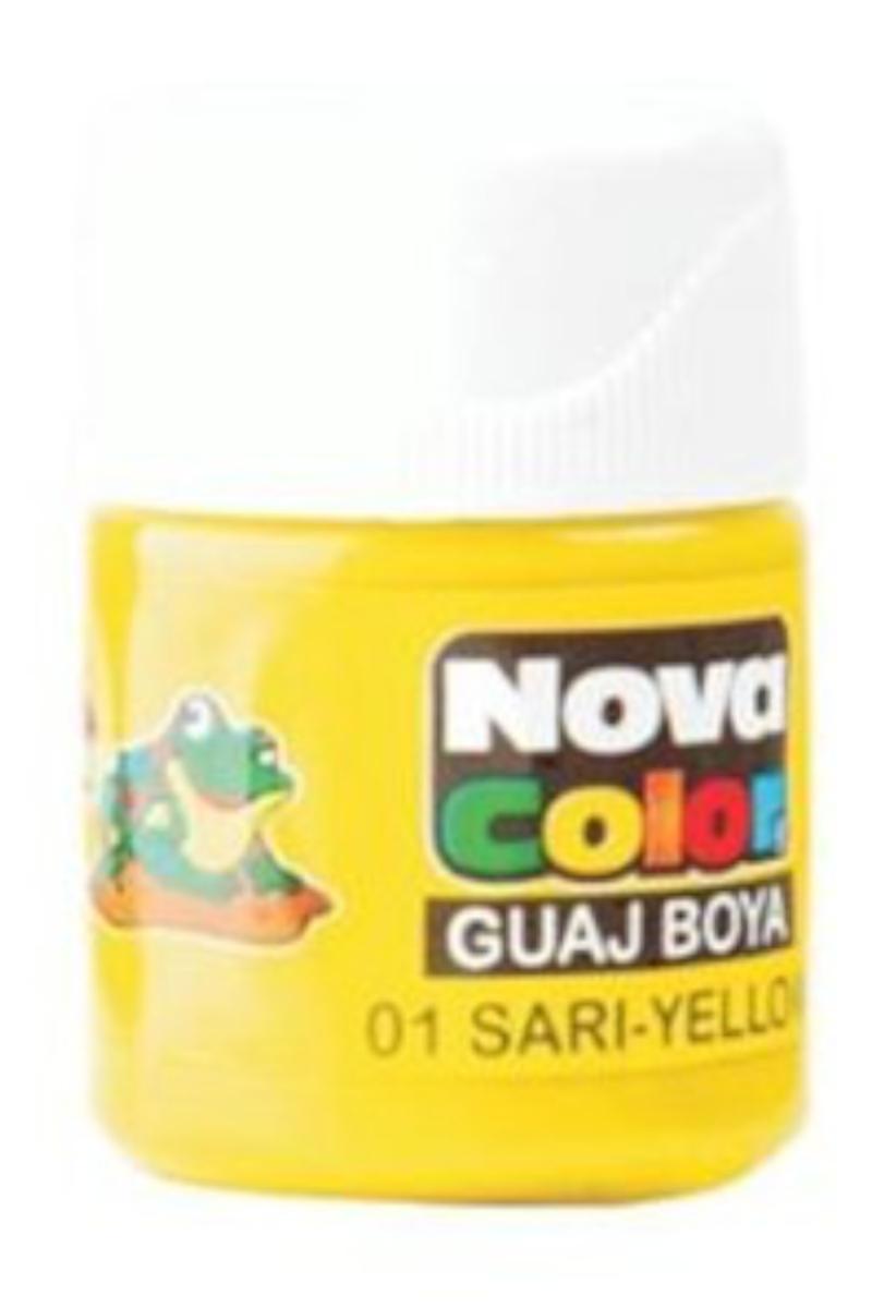 Nova Color Guaj Boya Şişe Sarı