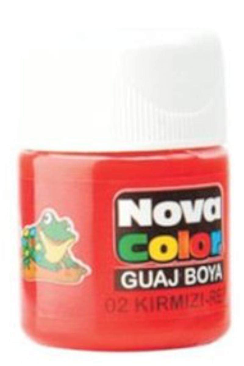 Nova Color Guaj Boya Şişe Kırmızı