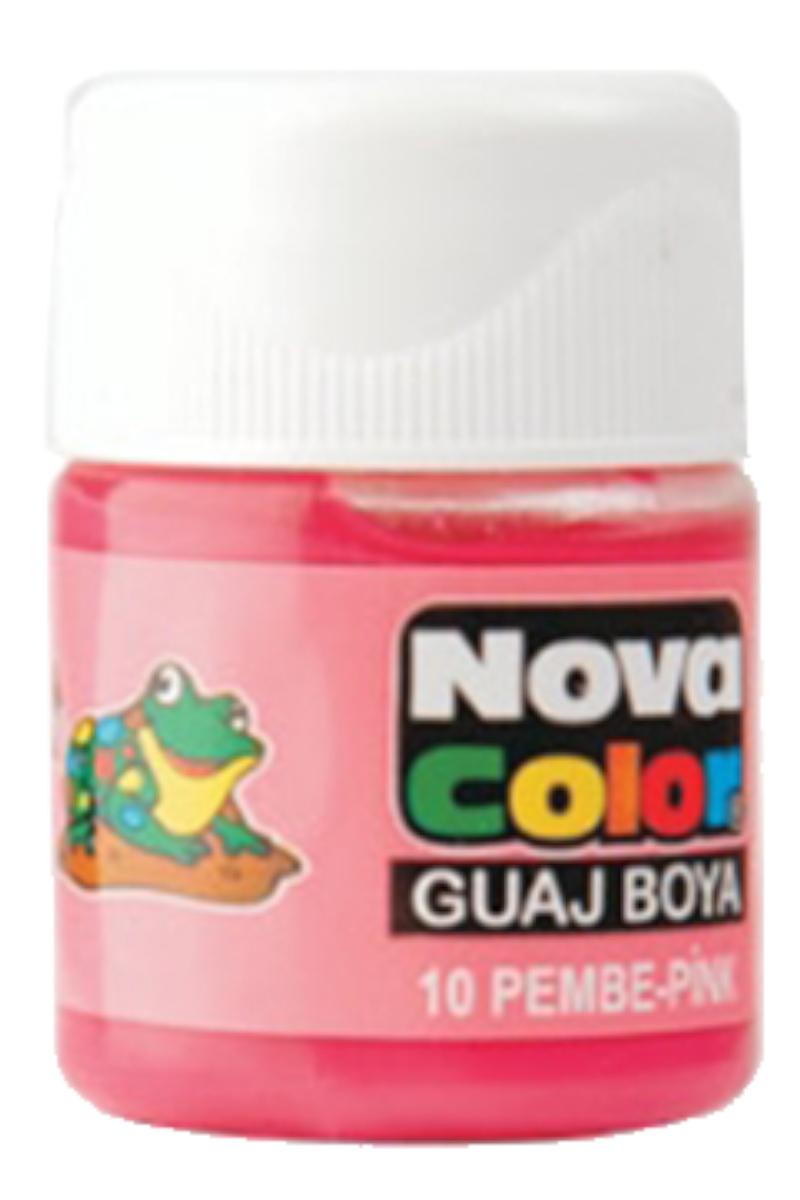 Nova Color Guaj Boya Şişe Pembe