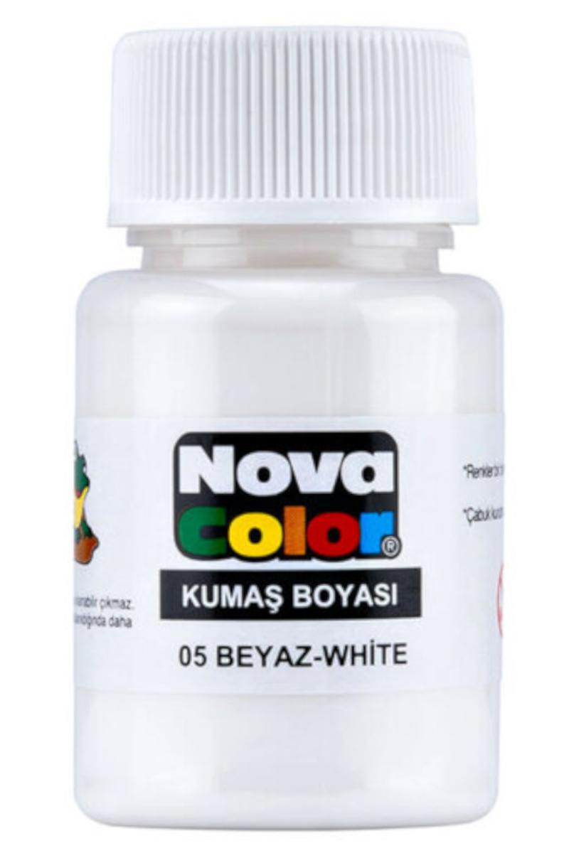 Nova Color Kumaş Boyası Beyaz