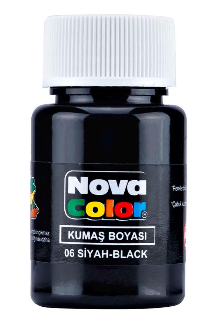 Nova Color Kumaş Boyası Siyah