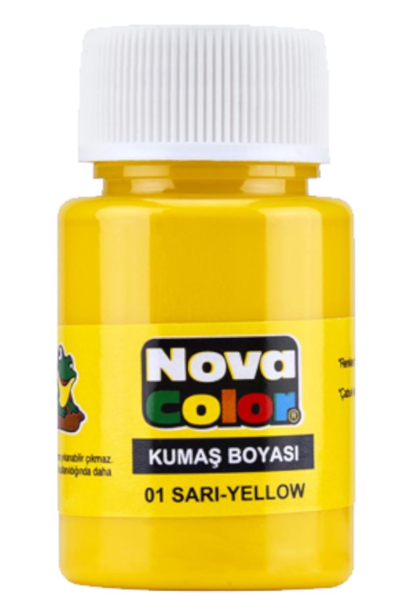 Nova Color Kumaş Boyası Sarı