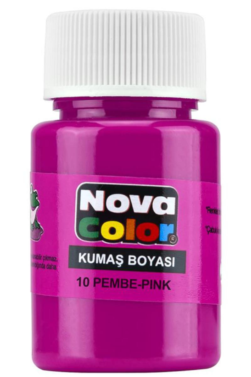 Nova Color Kumaş Boyası Pembe Nc-168