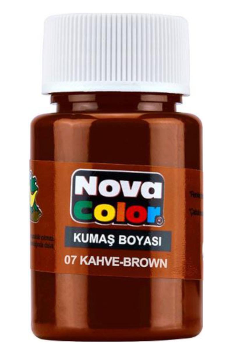 Nova Color Kumaş Boyası Kahve
