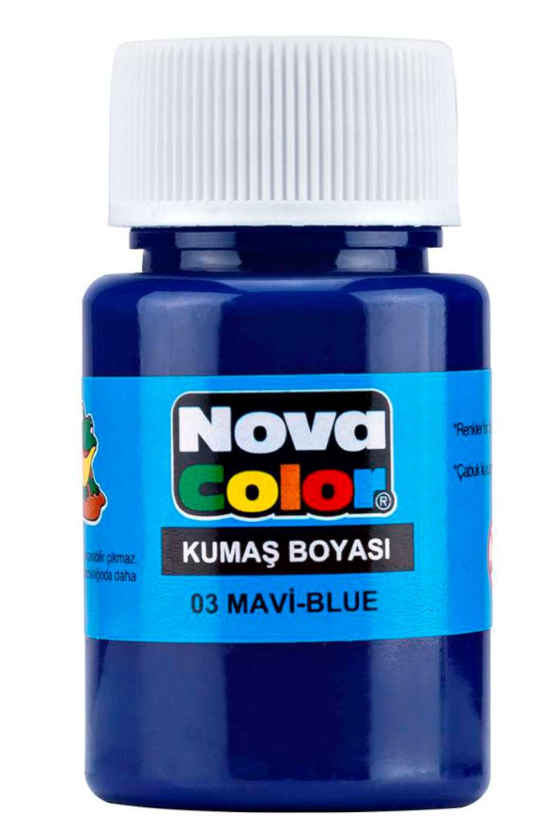 Nova Color Kumaş Boyası Mavi
