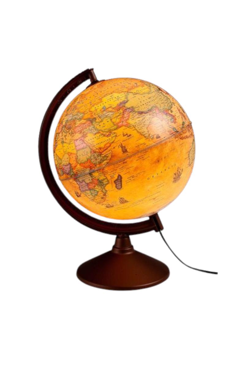 Gürbüz Işıklı Antik Küre 30 Cm