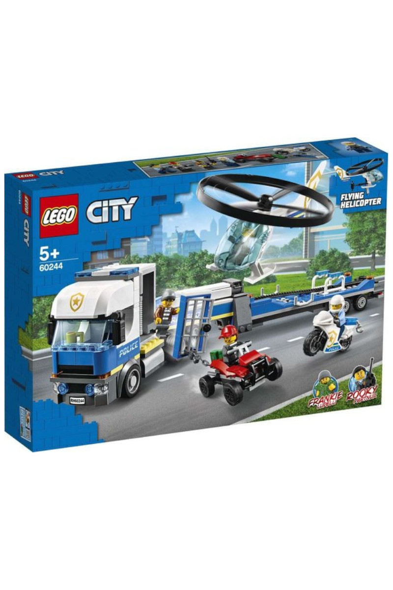 Lego City Helicopter Transport