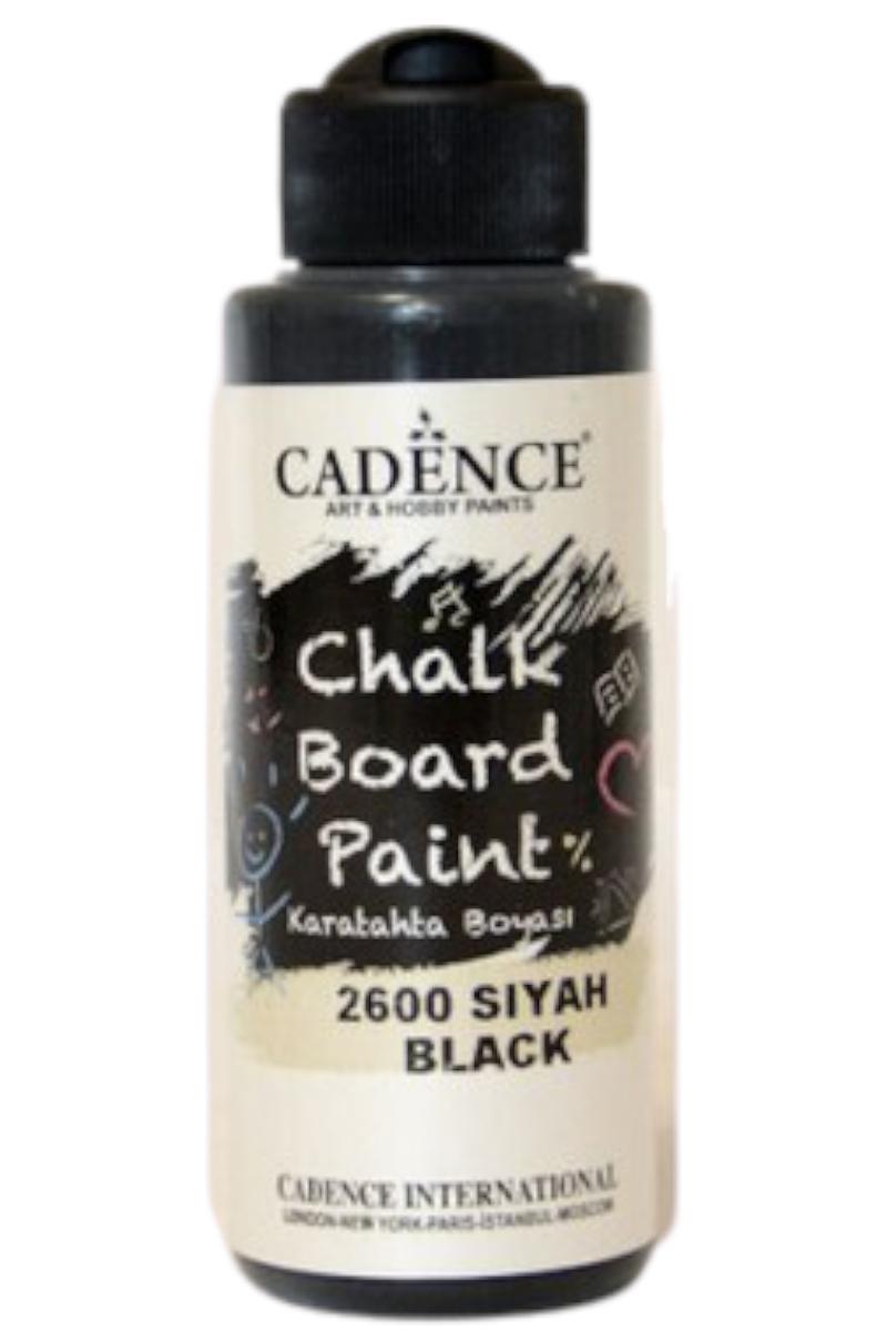 Cadence Kara Tahta Boyası 2600 Siyah 120ml
