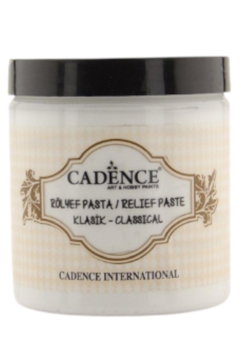 Cadence Klasik Rölyef Pasta 150ml