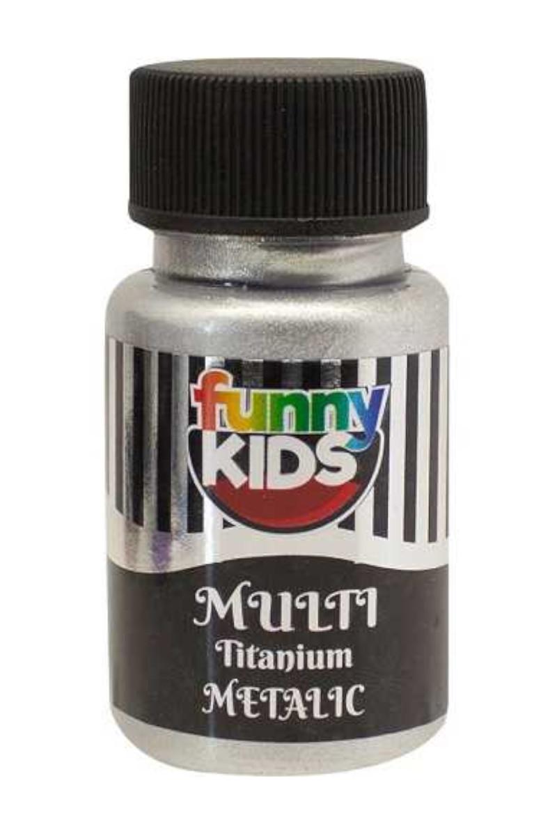 Funny Kids Titanyum Metalik 050cc Gümüş