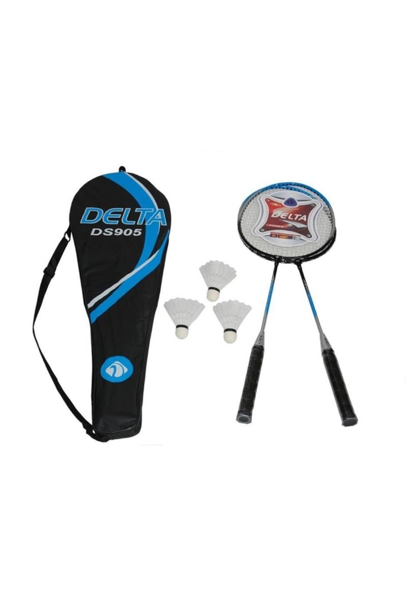 Delta Badminton Seti 2 Raket+3 Top Çantalı