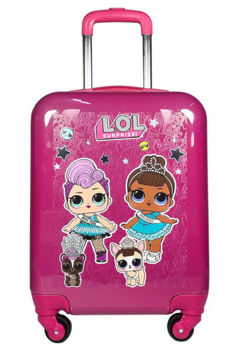 LOL Çocuk Valizi Pembe
